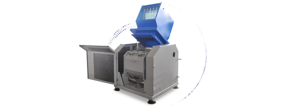 granulators with tangential cutting chamber